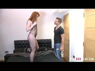 Sneaking up on his Redhead Stepsister