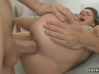 These two hot babes sharing a big cock that they ride