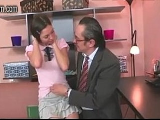 This bride is itching for a cock other than her husbands so his father steps in