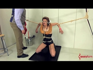 Dominatrix gets fucked anally destroyed and degraded