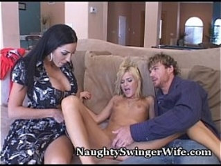Hot Coed Seduced By Big Tit Wife And Hubby