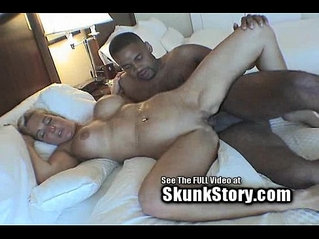 Amber Gets Dominated By Big Black hard Cock!
