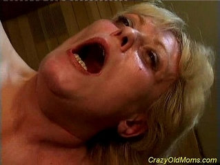 Crazy old mom gets ass pounded by hard anal fucked