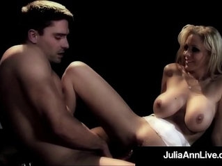 Milf queen julia ann gets rough anal fucked on stage