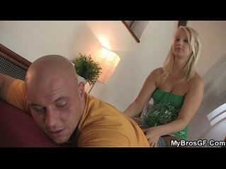 He finds out his blonde GF is a cheating slut!