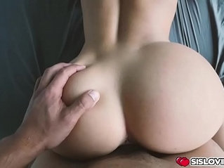 Chloe Lane rode her step bros big cock with pussy