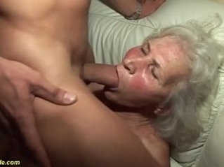 crazy years old grandma first porn music video