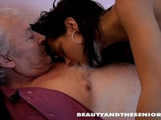 Bruce a dirty old man loves to fuck young girls like petra