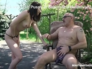 Grandpa Fucking with the Wrong Pussy