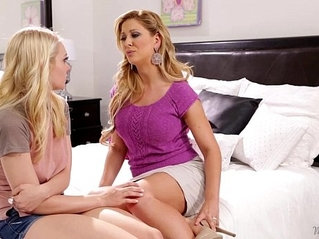 Step mother cherie deville licking alli raes pussy